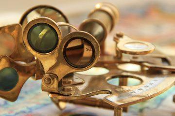 photo of sextant